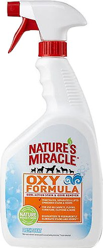 Nature's Miracle Oxy Pet Stain & Odor Remover Fresh Scent, 32-oz bottle