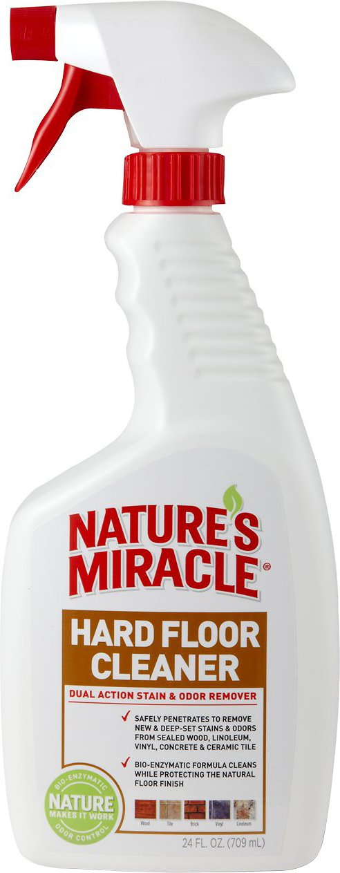 Nature's Miracle Dual Action Hard Floor Stain & Odor Remover, 32-oz spray