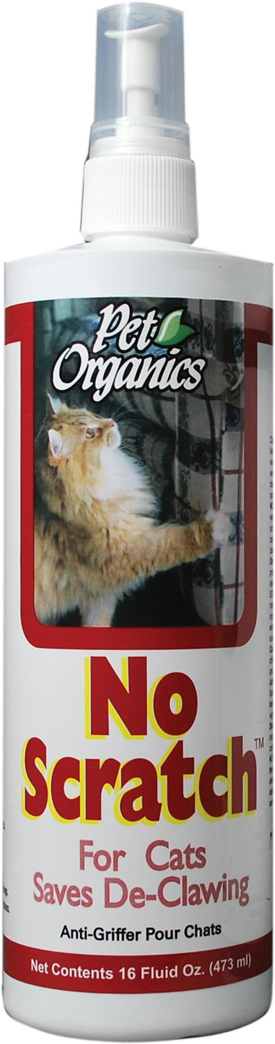 NaturVet Pet Organics No Scratch for Cats, 16-oz bottle