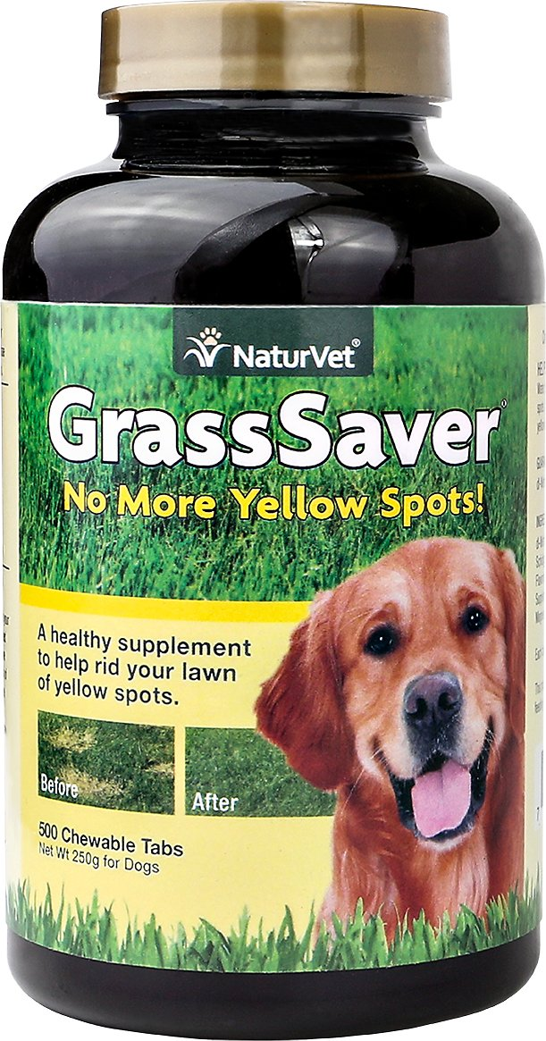 NaturVet GrassSaver Dog Tablets
