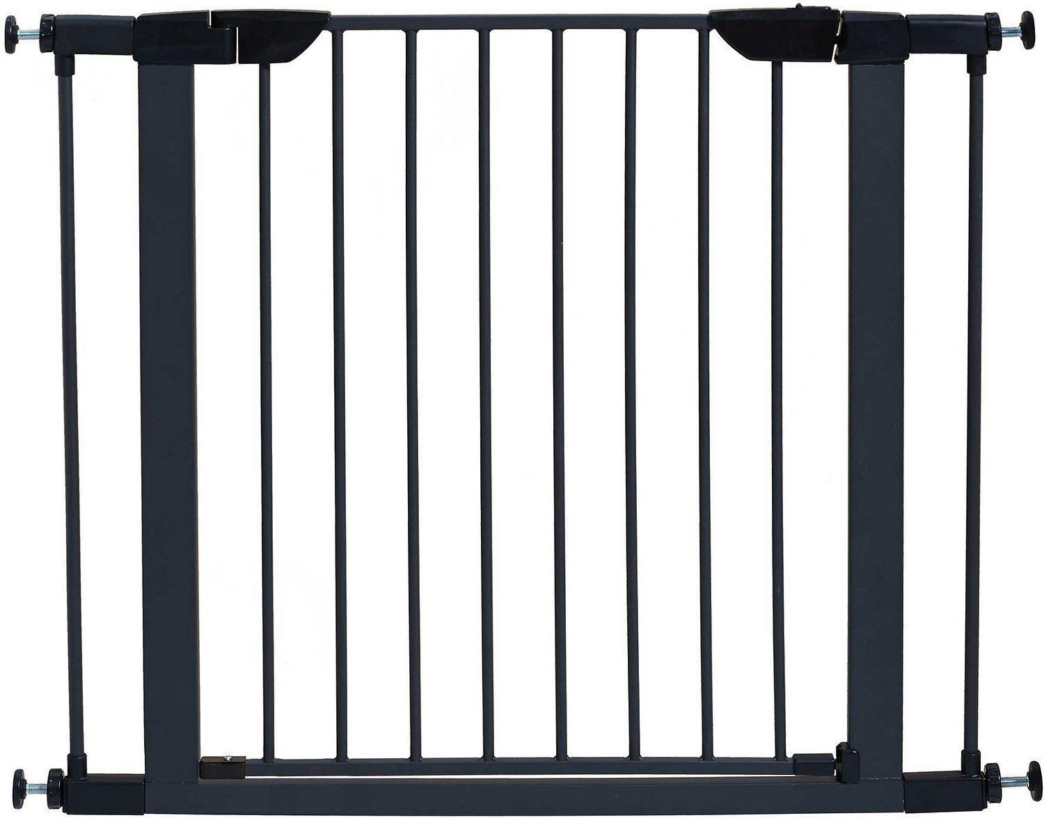 "MidWest 29"" Steel Pet Gate, Graphite"