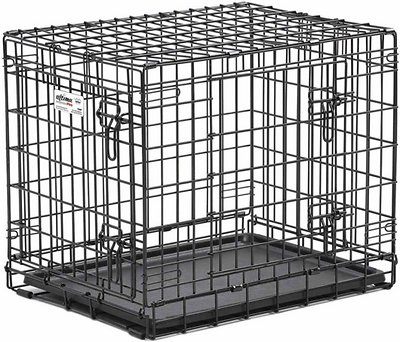 MidWest Ultima Pro Double Door Dog Crate, 42-in