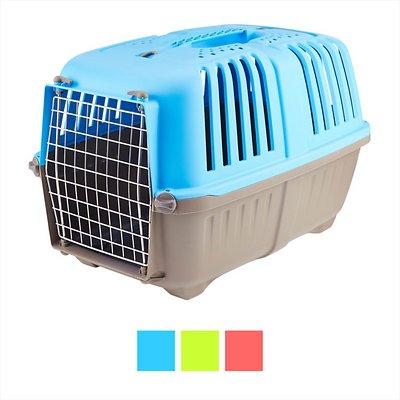 MidWest Spree Plastic Pet Carrier, Blue