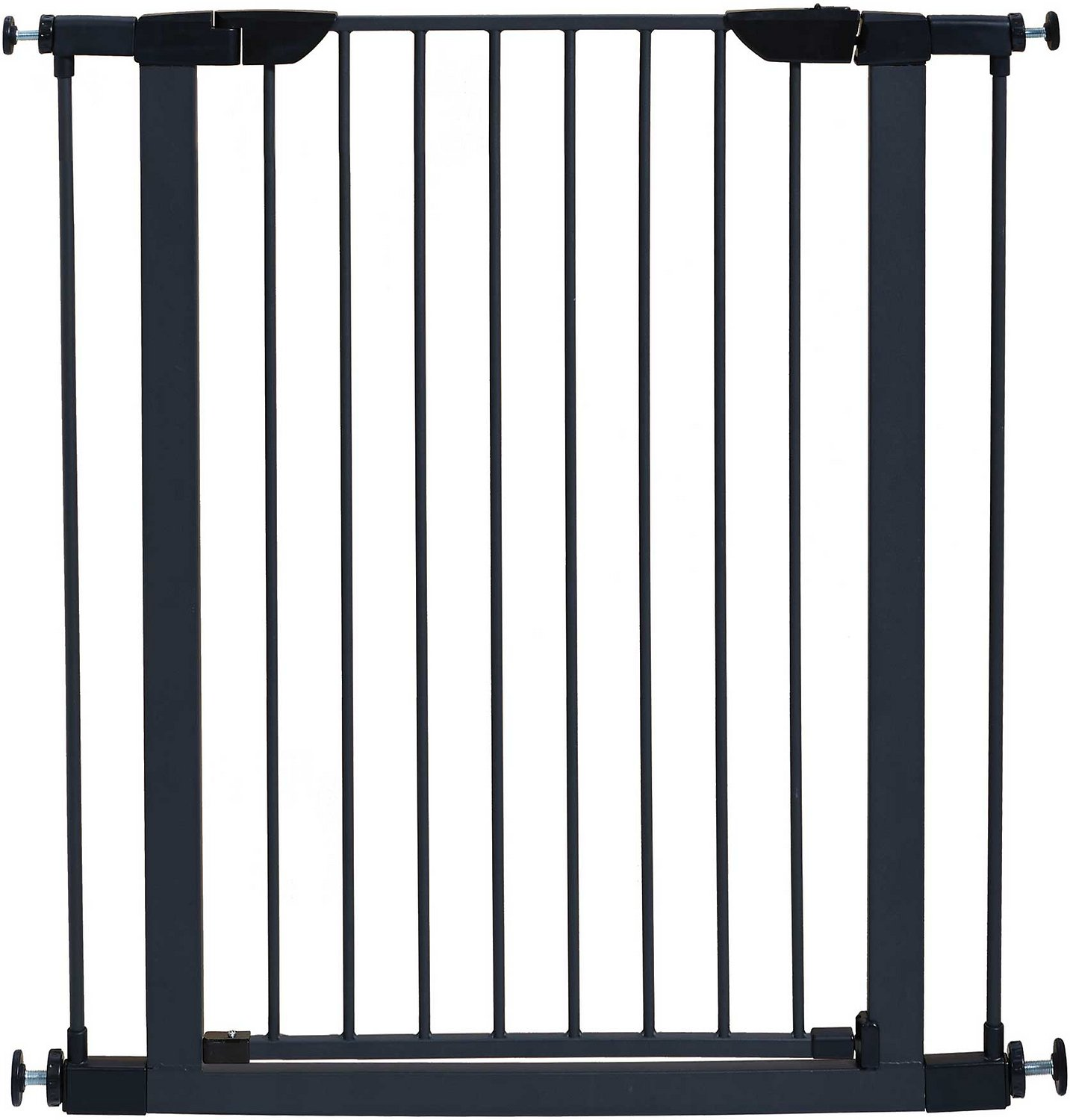 """MidWest 39"""" Steel Pet Gate, Graphite"""