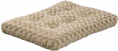 MidWest Quiet Time Ombre Swirl Dog & Cat Bed, Taupe, 30-in