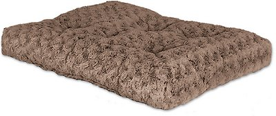 MidWest Quiet Time Ombre Swirl Dog & Cat Bed, Taupe, 18-in