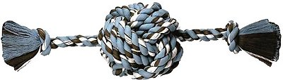 Mammoth Monkey Fist Ball & Rope Ends Dog Toy