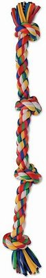 Mammoth Cloth Rope Tug for Dogs, Color Varies