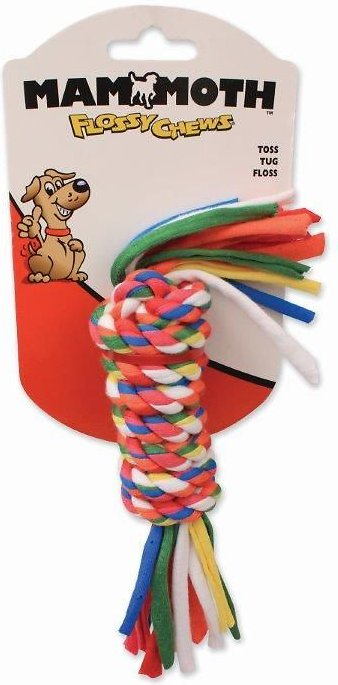 Mammoth Cloth Rope Bar for Dogs, Color Varies, Small