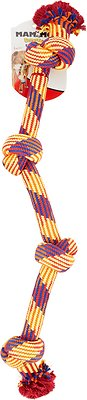Mammoth Knot Tug for Dogs, Color Varies