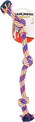 Mammoth Knot Tug Dog Toy, Color Varies, Medium
