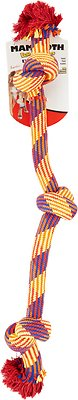 Mammoth Knot Tug for Dogs, Color Varies, Large