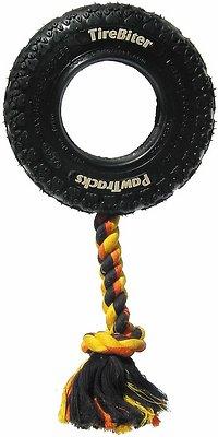Mammoth TireBiter Tire & Rope Dog Toy, Medium