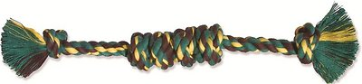 Mammoth Monkey Fist Bar Dog Toy, Color Varies, Small