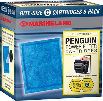 Marineland Bio-Wheel Penguin Rite-Size C Filter Cartridge