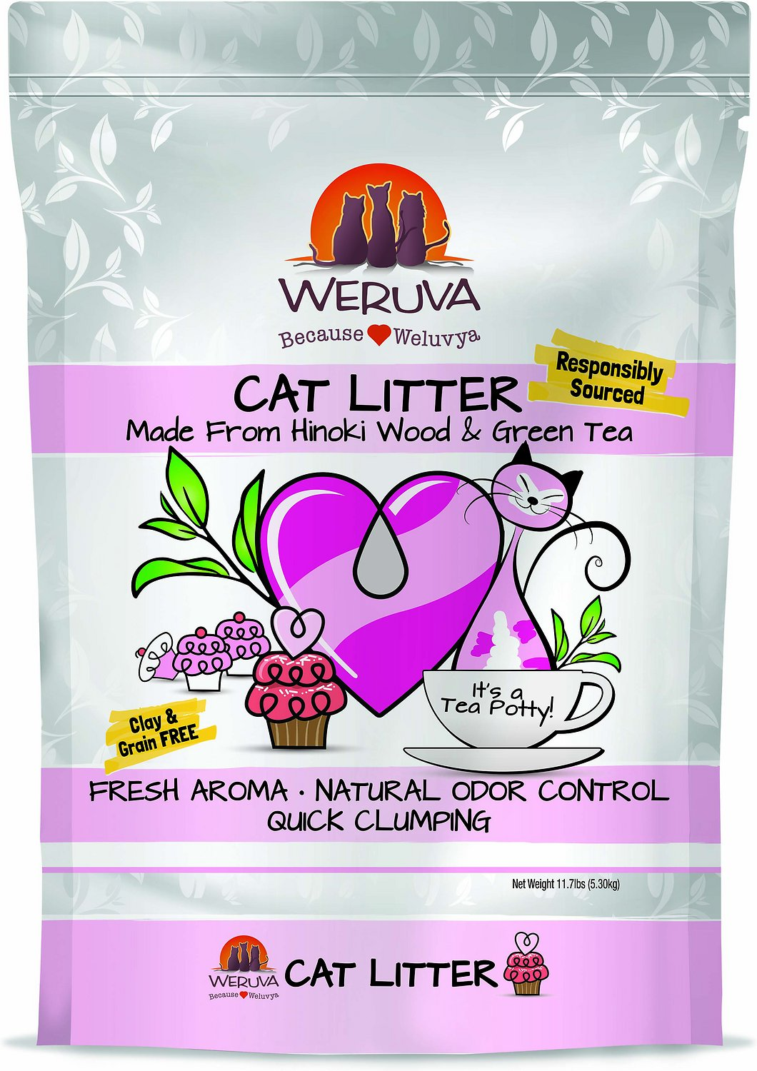 Weruva Natural Quick Clumping Cat Litter Image