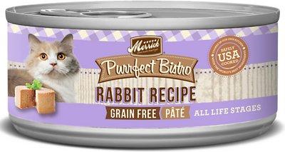 Merrick Purrfect Bistro Grain-Free Rabbit Pate Canned Cat Food