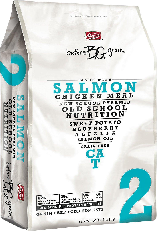 Merrick Before Grain Salmon Formula Grain-Free Dry Cat Food, 11.1-lb bag
