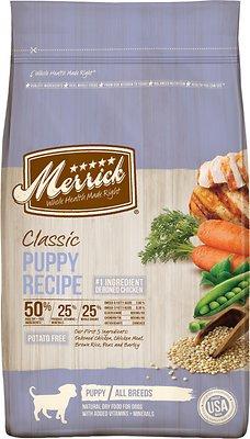 Merrick Classic Puppy Recipe Dry Dog Food, 12-lb bag