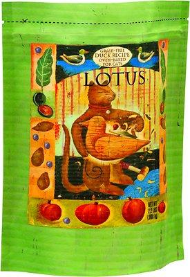 Lotus Oven-Baked Duck Recipe Grain-Free Dry Cat Food, 2.2-lb bag