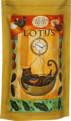 Lotus Low-Fat Chicken Recipe Dry Cat Food, 3-lb bag