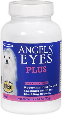 Angels' Eyes Plus Beef Flavor Dog Supplement