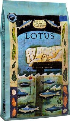 Lotus Oven-Baked Fish Recipe Grain-Free Dry Dog Food, 10-lb bag
