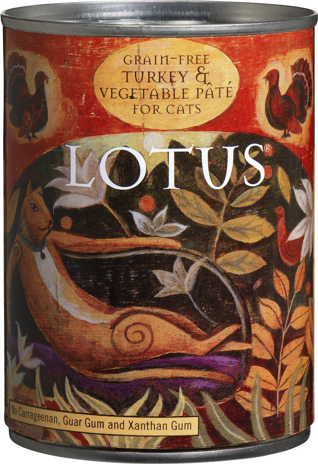 Lotus Turkey & Vegetable Pate Grain-Free Canned Cat Food