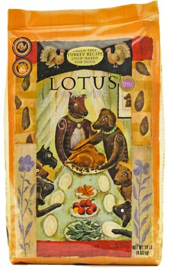 Lotus Oven-Baked Turkey Small Bites Recipe Grain-Free Adult Dry Dog Food