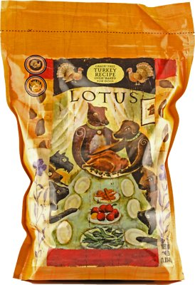 Lotus Oven-Baked Turkey Recipe Grain-Free Dry Dog Food, 4-lb bag