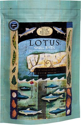 Lotus Oven-Baked Fish Small Bites Recipe Grain-Free Dry Dog Food