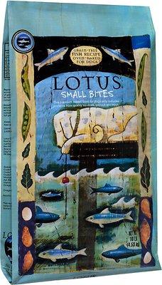 Lotus Oven-Baked Fish Small Bites Recipe Grain-Free Dry Dog Food