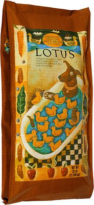 Lotus Wholesome Duck Recipe Grain-Free Dry Dog Food, 4-lb bag