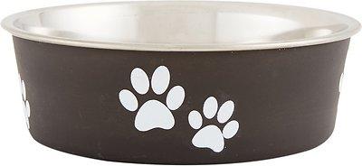 Loving Pets Bella Bowls Pet Bowl, Espresso, Small