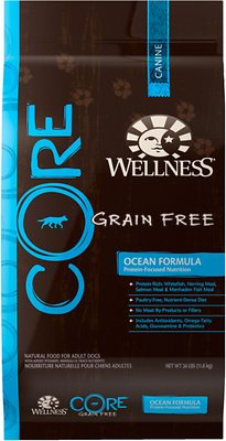 Wellness CORE Grain-Free Ocean Whitefish, Herring & Salmon Recipe Dry Dog Food