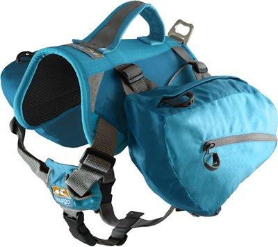 Kurgo Baxter Dog Backpack, Coastal Blue, Big Baxter