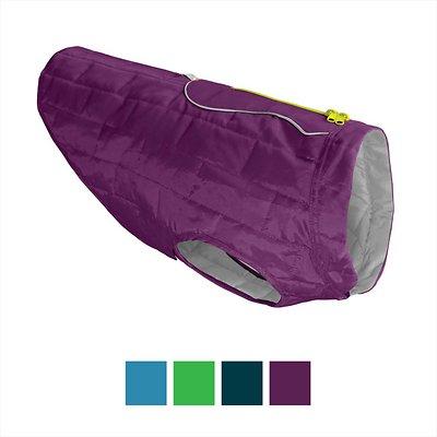 Kurgo Loft Reversible Dog Coat, Purple, X-Large