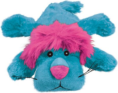 KONG Cozie King the Purple Haired Lion Dog Toy, Small