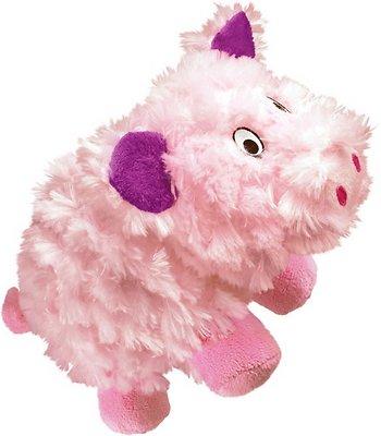 KONG Barnyard Cruncheez Pig Dog Toy, Small