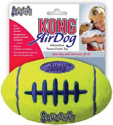 KONG AirDog Football Dog Toy, Small