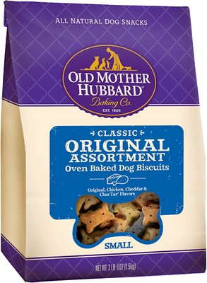 Old Mother Hubbard Classic Original Assortment Biscuits Baked Dog Treats