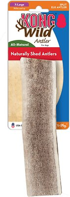 KONG Wild Split Elk Antler Dog Chew, X-Large