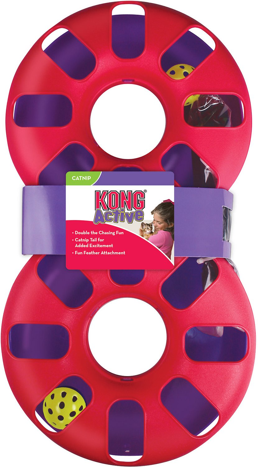 KONG Eight Track Cat Toy