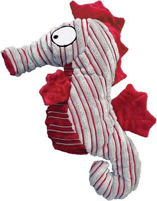 KONG CuteSeas Seahorse Dog Toy, Large