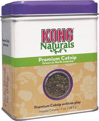 KONG Naturals Premium Catnip, 1-oz tin