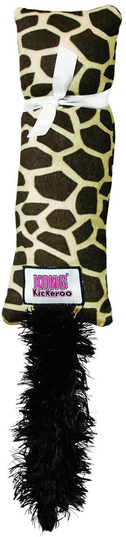 KONG Kickeroo Giraffe Pattern Cat Toy