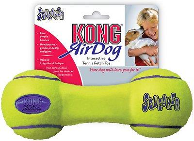 KONG AirDog Dumbbell Dog Toy, Large