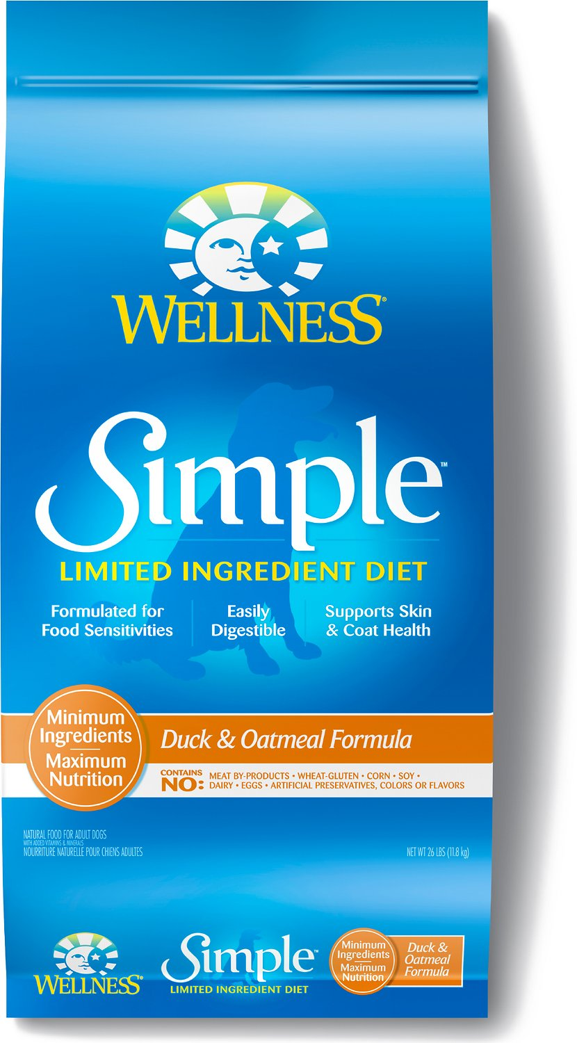 Wellness Simple Limited Ingredient Diet Duck & Oatmeal Formula Dry Dog Food Image