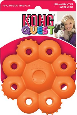 KONG Quest Star Pods Dog Toy, Color Varies, Large