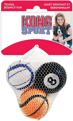 KONG Sport Balls Pack Dog Toy, Medium